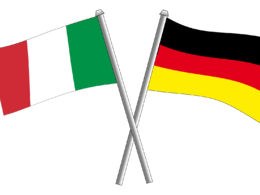 Translate German to fluent Italian (up to 500 words)