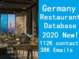 Provide Germany restaurant database include email phone
