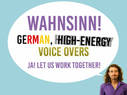 Create a professional German Voice Over