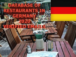Provide database of 19000 restaurants in Germany with e-mails.