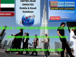 3 millions 2020 fresh updated UAE  Entire  business email mobile