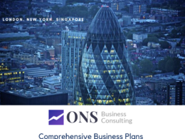 ONS Business Consulting's header