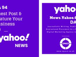 Write & Publish A Guest Post on Yahoo News DA94 - news.yahoo.com