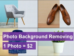 Remove 10 photos background instantly
