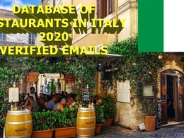 Provide database of 40000 restaurants in Italy with e-mails.