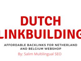 Build 3 Dutch Do-follow Backlinks