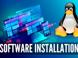 Installation of any open source software on GNU / Linux