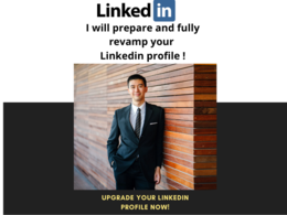 Prepare and grow professional LinkedIn Profile