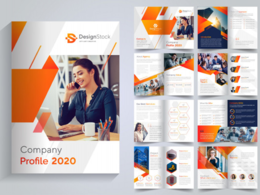 Design professional 10 pages catalog / brochure / magazine