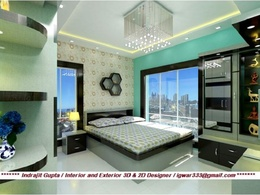Design a interior or exterior model for house, rooms or office