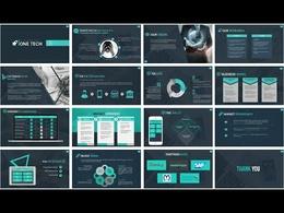 Design 20 Attractive PowerPoint/Keynote or google  Presentation