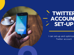 Set up and optimise your Twitter account
