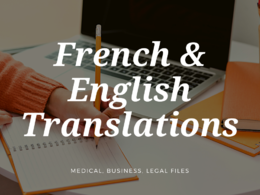 Translate English to French (vice versa) up to 500 words