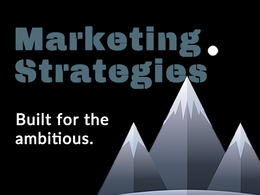 Creation of your marketing strategy