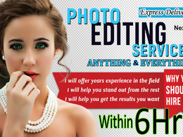 Do 10 product photo editing, photo retouching and enhancement