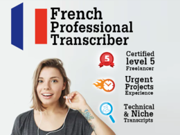 Transcribe and/or translate French Audio or Video