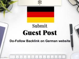 German Guest Post on German Blog DA 70