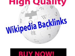 Create 1 High Quality Wikipedia Backlinks for your website