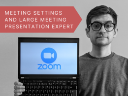 Provide a 30 minute one-to-one Zoom tutorial