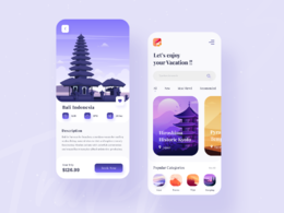 Create a beautiful mobile application