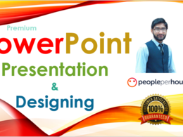 Make PowerPoint Presentation on any topic with attractive design
