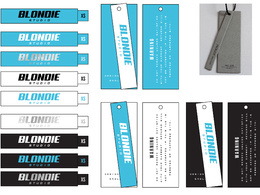 Design apparel labels and swing tags for your brand