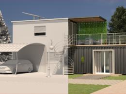 Provide Architectural Exterior 3D Model