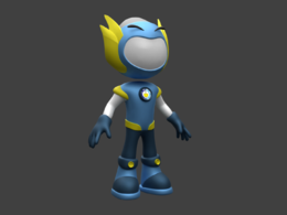 Create 3D model and animation characters or mascots
