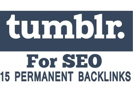 15 Permanent Backlinks Manually Tumblr PBN On PA 70 to 50 Tumblr