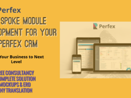 Provide full customization / Be-spoke development of Perfex CRM