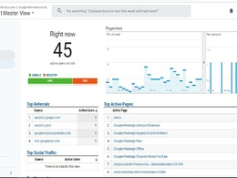 Setup google analytics and goal or event tracking