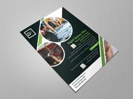 Print Ready High Resolution Flyer/Leaflet Design