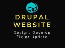 Develop Drupal Website, Update or Fix Issues