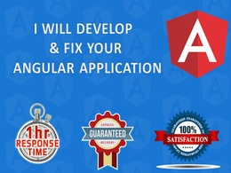 Develop and fix your angular application