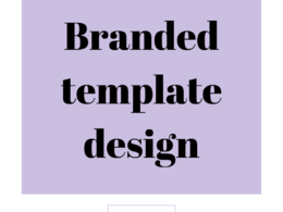 Create up to 5 branded templates for your business