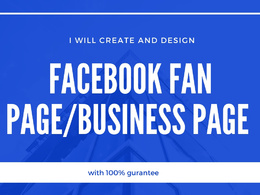 Create a facebook business page,fan page,fb shop