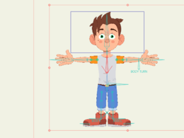 I can do your character's 2D rig in MOHO!