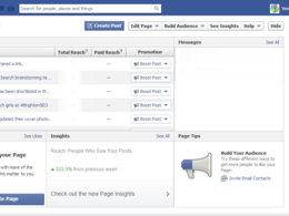 Manage and grow your facebook fan page