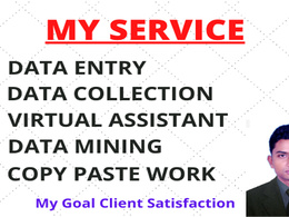 Data entry service will be provided within 1 hour