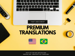 Translate documents from English to Portuguese