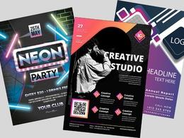 Design   1 Page Eye Catching Flyer or Leaflet