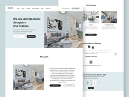 Make a unique UX/UI design for your website / landing page