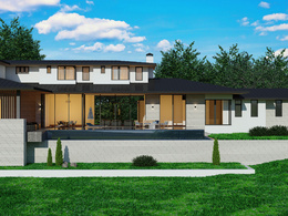 Design and render exterior of your house