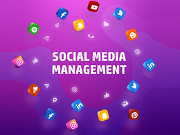 Manage any 2 social media accounts for 5 days