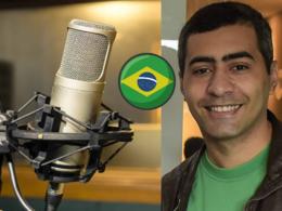 Record a professional brazilian portuguese voice over