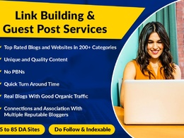 Providing Guest Posting and Link Building Services