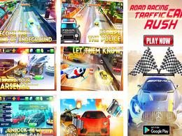 Interactive screenshots design for google play & app store