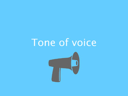 Create a 'how to' tone of voice guide for your business