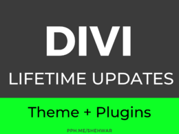 ✅ Install DIVI theme and Plugins in WordPress