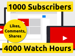Boost Your Youtube Channel & Get Monetize Enable